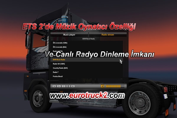 Euro Truck Simulator 2 – Radyo Özelliği
