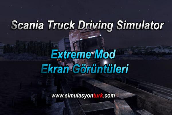 Scania Truck Driving Simulator – Extreme Mod Ekran Görüntüleri