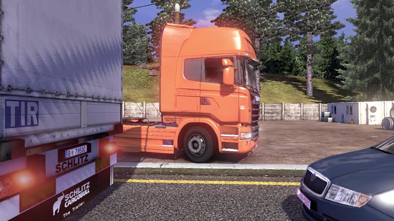 scania tds road 6 Scania Tır Simülasyonu   Yol Çalışması Ekran Görüntüleri