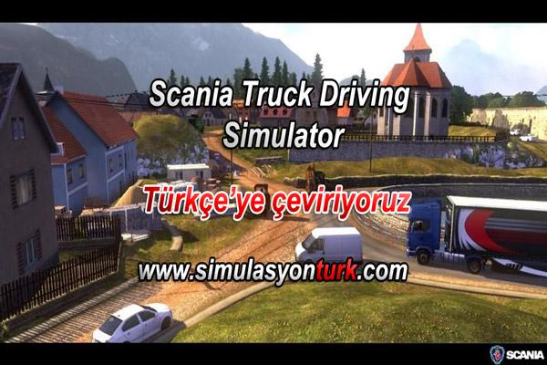 Simülasyon Türk ekibi Scania oyununu Türkçe'ye çeviriyor