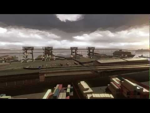 Euro Truck Simulator 2 Imagens ambiente misto