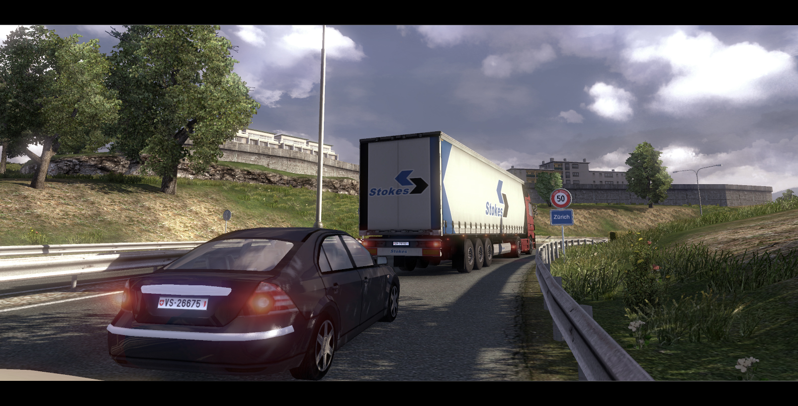 Almost-finished euro truck simulator 2 scs released some more screenshots showing some of the truck selection pages