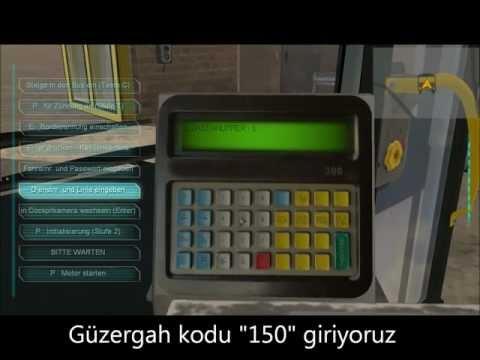 Bus Simulator 2012 Tam Çözüm [Yolcu Alma,Bilet Kesme,Otobüs Çalıştırma,Güzergah Seçme]