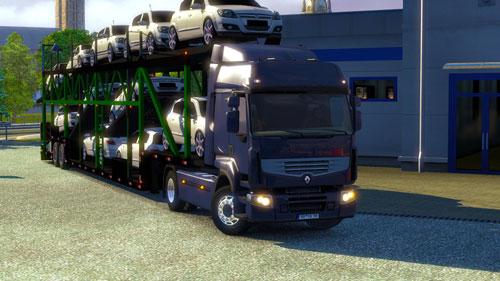 ETS 2 Mod Yeni Araba Taşıma Dorsesi Sim&252lasyon T&220RK