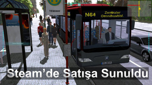 Bus Simulator 2012 artık Steam'de