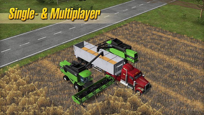 fs2014 single multiplayer Farming Simulator 2014 Çıktı!