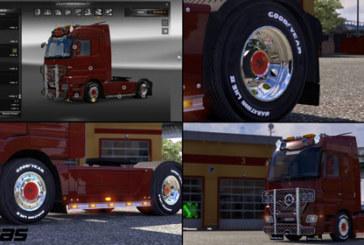 Читать еще и Скачать / Scania interior black orange v 1.7.0. New Chrome Co
