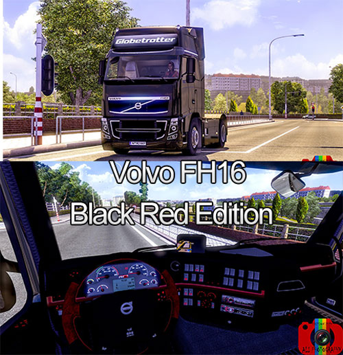 Volvo-FH16-Black-Red-Edition