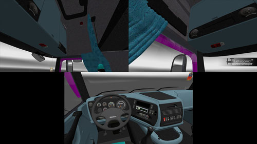 daf-xf95-interior