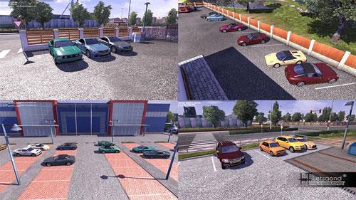 ETS 2 Mod – 82 Tane Yeni Aİ Trafik Aracı [v1.9.x]