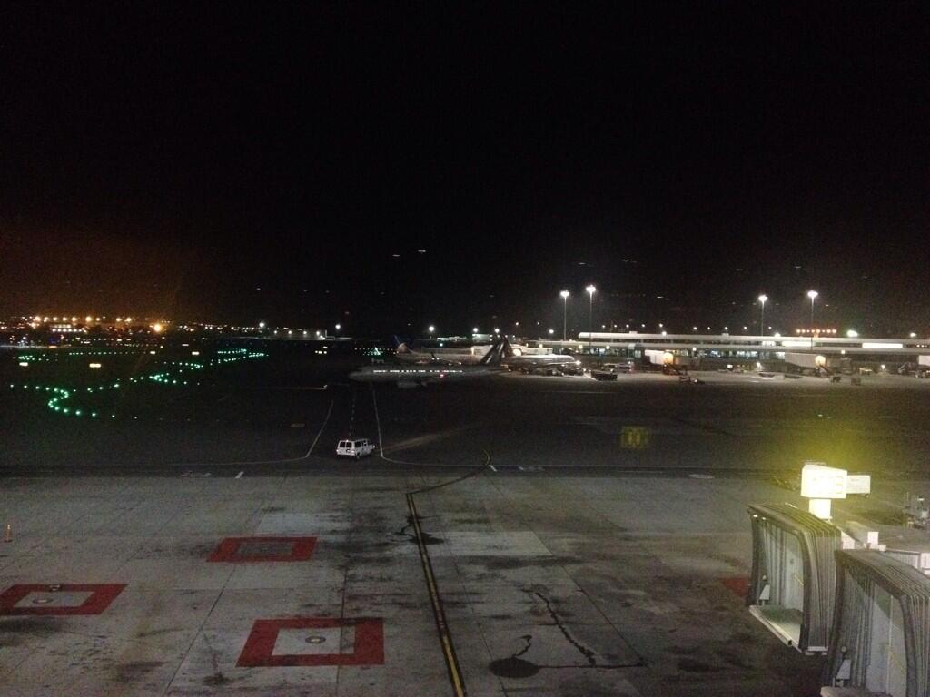 Good night and good bye SFO!