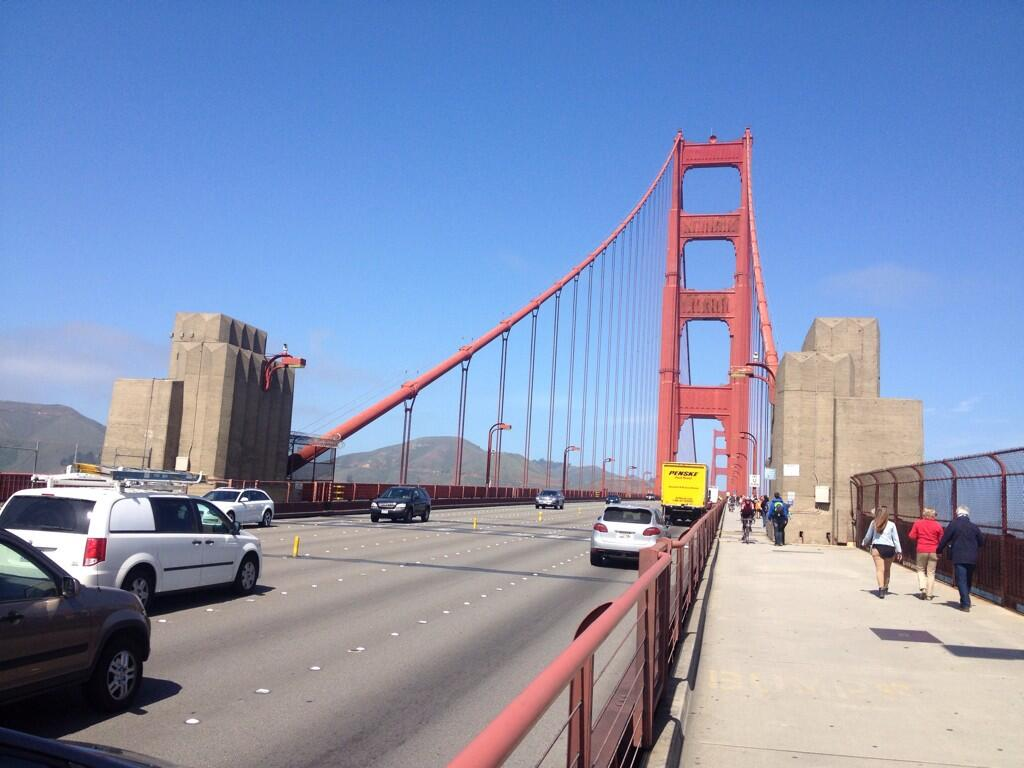 Real Golden Gate Bridge