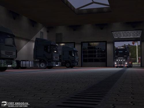 ETS 2 Mod – Yeni Tamirhane Binası