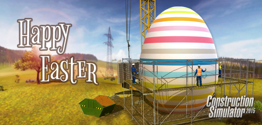 Construction Simulator-Happy Easter