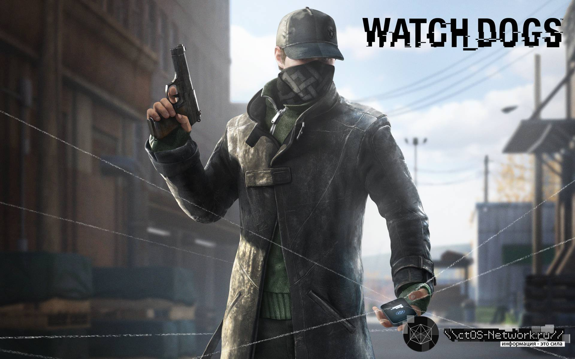 Aiden Pearce Watch Dogs  Dlc