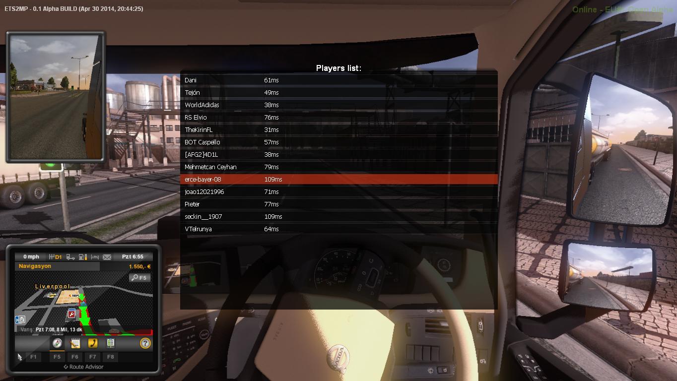 evro 2 simulator truck перепутаны почему клавиши