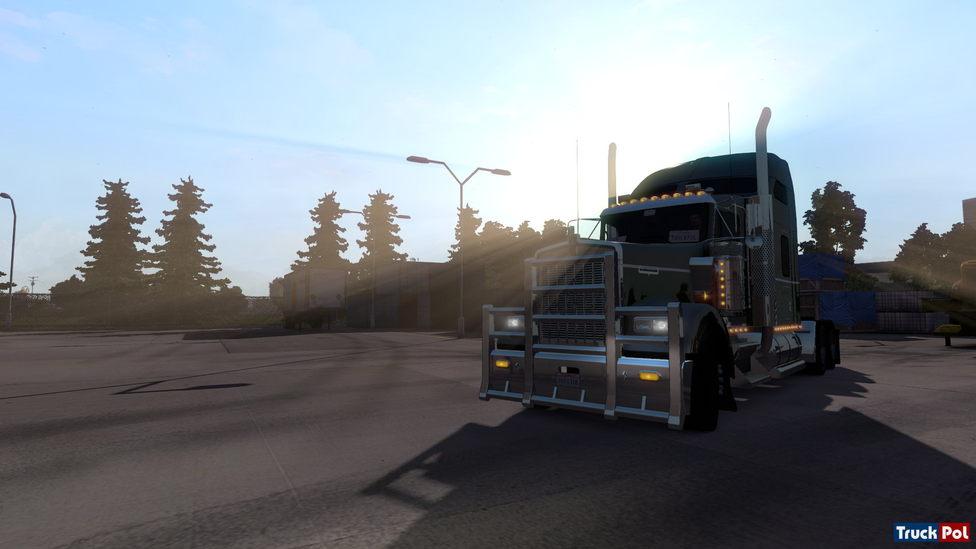 american truck simulator on the road ekran g r nt leri. Black Bedroom Furniture Sets. Home Design Ideas