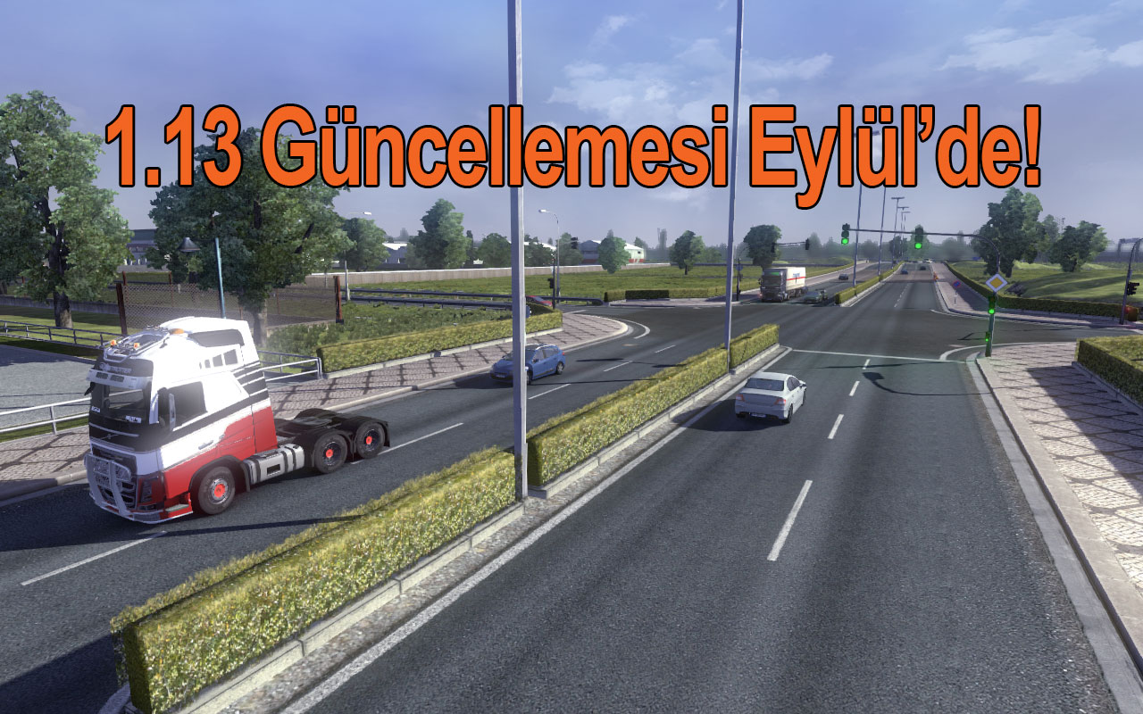 Euro Truck Simulator 2′ye 1.13 Güncellemesi Geliyor!