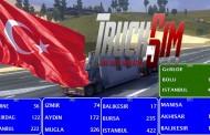 ETS 2 TruckSimMap Modundan Türkiye Bilgileri