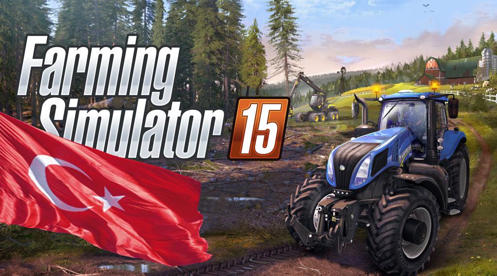 Farming Simulator 15′e Türkçe Dil Desteği Geldi