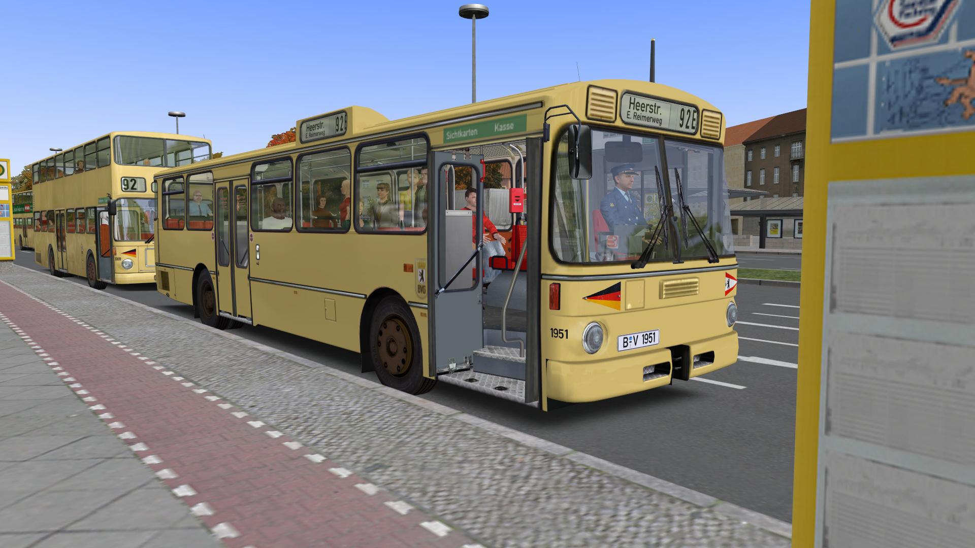 Omsi Omsi 2 I 231 In City Bus O305 Dlc Si