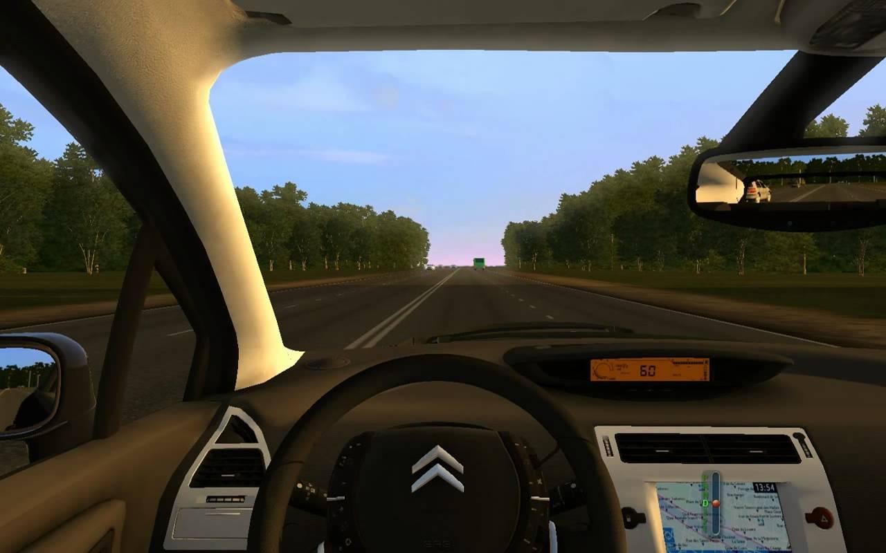 City Car Driving Mod Citroen C4 Vtr