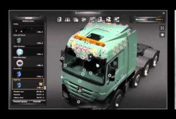 ETS 2 Mod – Mercedes-Benz Actros MP3 + Modifiye [1.14.x]
