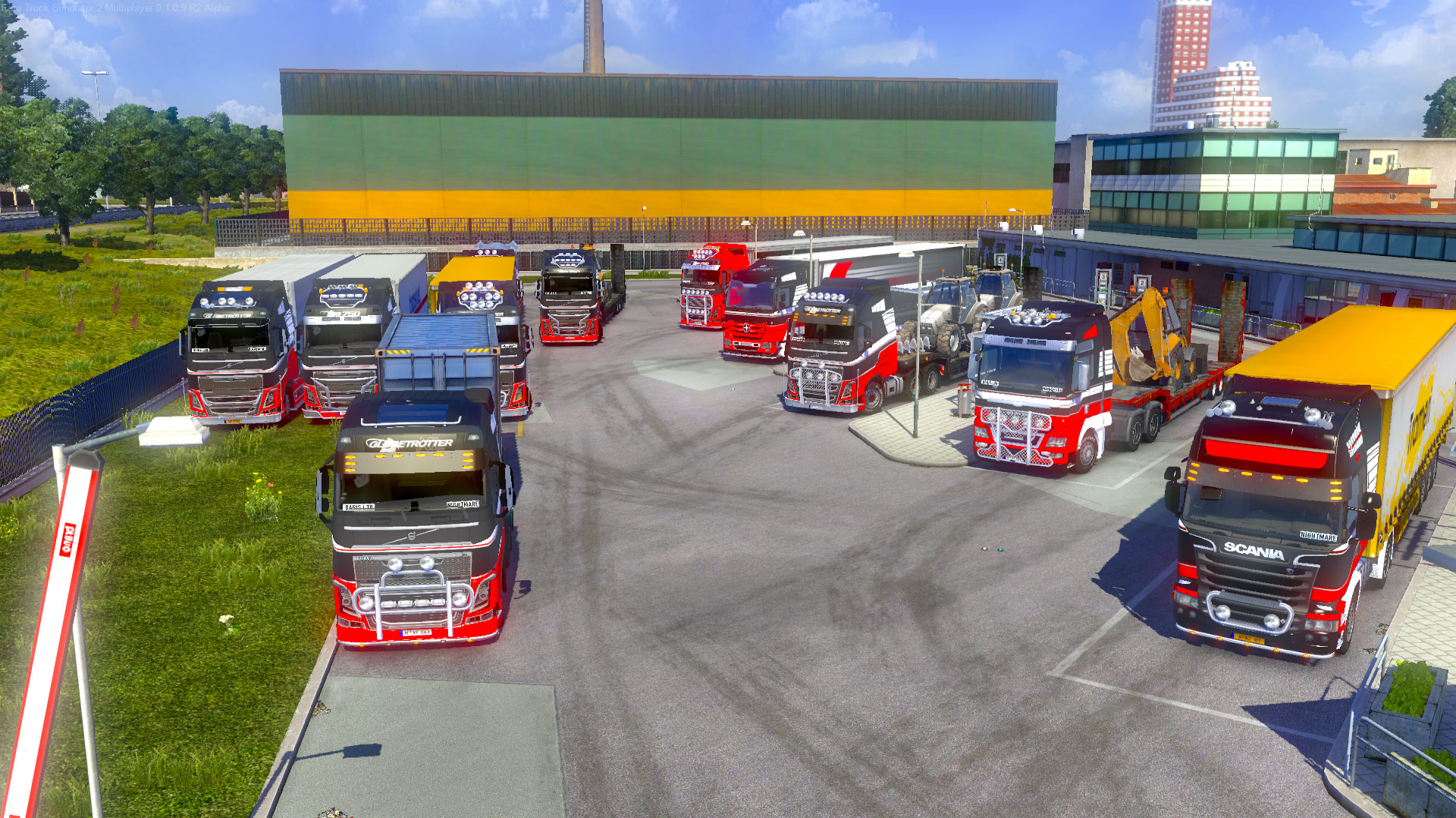 Euro Truck Simulator  Multiplayer Cars