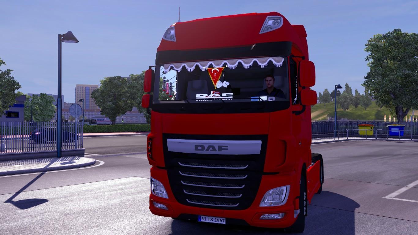 Ets 2 mod daf xf euro 6 t rk kabini for Daf euro 6 interieur