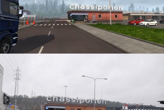Euro Truck Simulator 2 İskandinavya'daki Scania Fabrikasından Görüntüler!