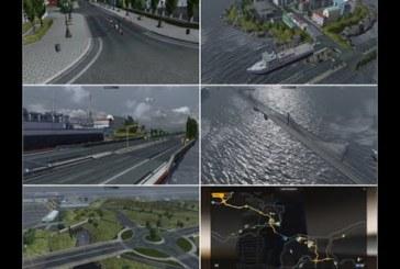 ETS 2 Calais ve Dover Arasına Köprü Modu