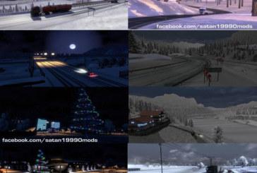 Euro Truck Simulator 2 Karlı Kış Modu v2.1 [1.15.x]