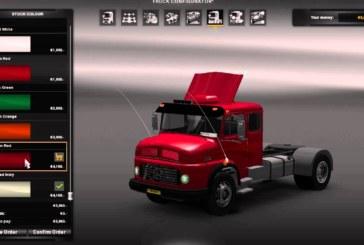 Euro Truck Simulator 2 Mercedes-Benz 1519 Çekicisi