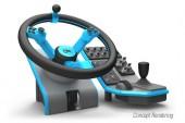 Farming Simulator için Direksiyon Seti Projesi