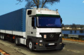 Euro Truck Simulator 2 Mercedes-Benz Actros MP2 [1.4.x]