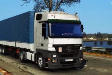 Euro Truck Simulator 2 Mercedes-Benz Actros MP2 [1.4.x]