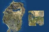 GTA V San Andreas ve 2004 San Andreas Harita Karşılaştırması