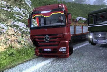 ETS 2 Mod – Mercedes-Benz Kazalı Mod v1.0