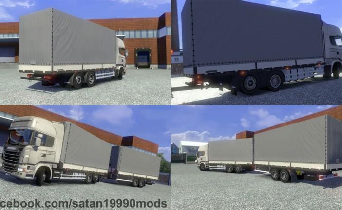 ETS 2 Mod – Scania R BDF Tandem Mod [1.16.x]