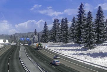 ETS 2 Mod – Erken Ayaz / Geç Kış Havası Modu v4.0