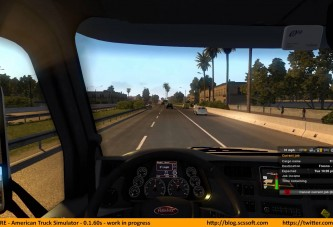 American Truck Simulator Alpha Oynanış Videosu