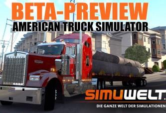 American Truck Simulator Beta Versiyon Oynanış Videosu