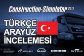 Construction Simulator 2015 Türkçe Arayüz İncelemesi