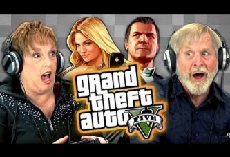Yaşlı Amcalar Teyzeler GTA 5 Oynuyor!