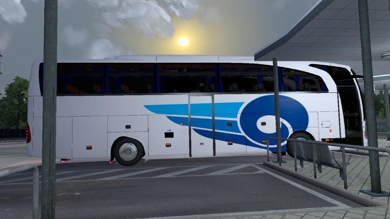 ETS 2 - Mercedes-Benz Travego 15 SHD Kamil Koç Otobüsü ...