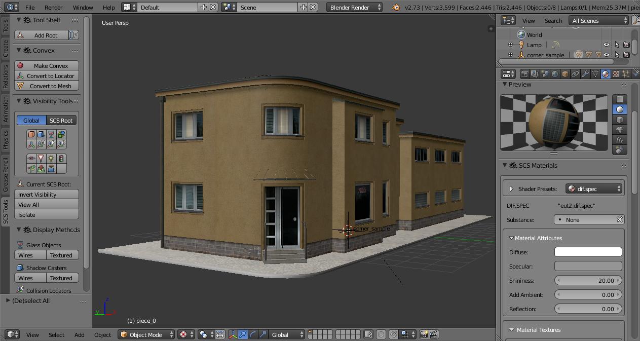Ayrıntılı bina modeli