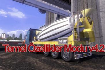 Euro Truck Simulator 2 Temel Özellikler Modu v4.2 [1.16.x]