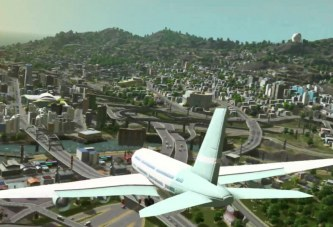 Cities Skylines Uçuş Simülasyonu Oldu