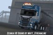 ETS 2 Scania V8 Motor Sesi