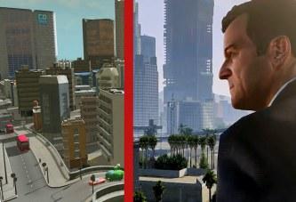 GTA 5'in İlk Videosu Cities Skylines'ta Canlandırıldı!